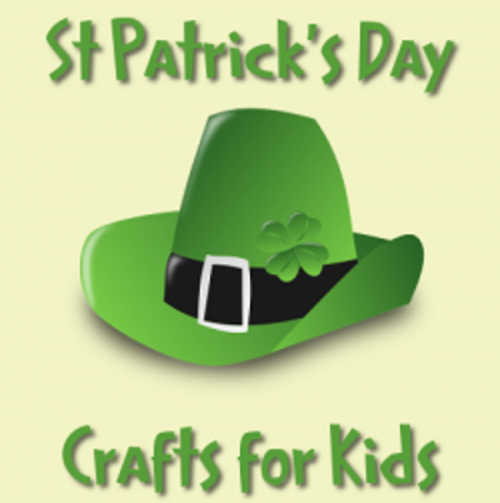 st patrick day craft kids