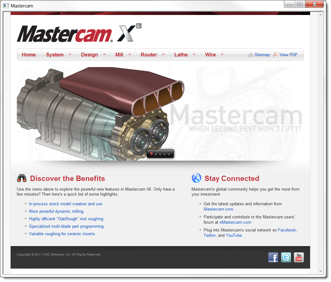 New and Improved What's New in Mastercam X6