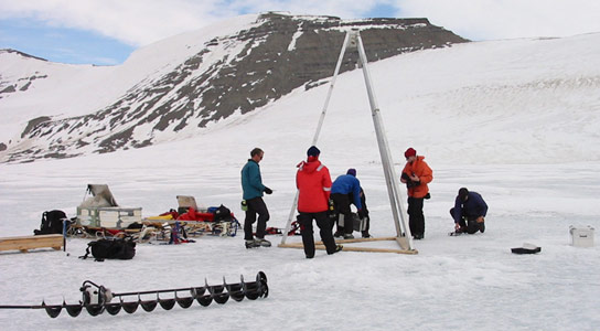 Scientists Discover Life in the Sediments of an Antarctic Subglacial Lake