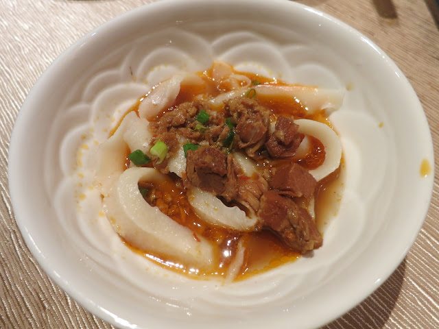 Knife-shaved Noodle with Braised Pork Belly