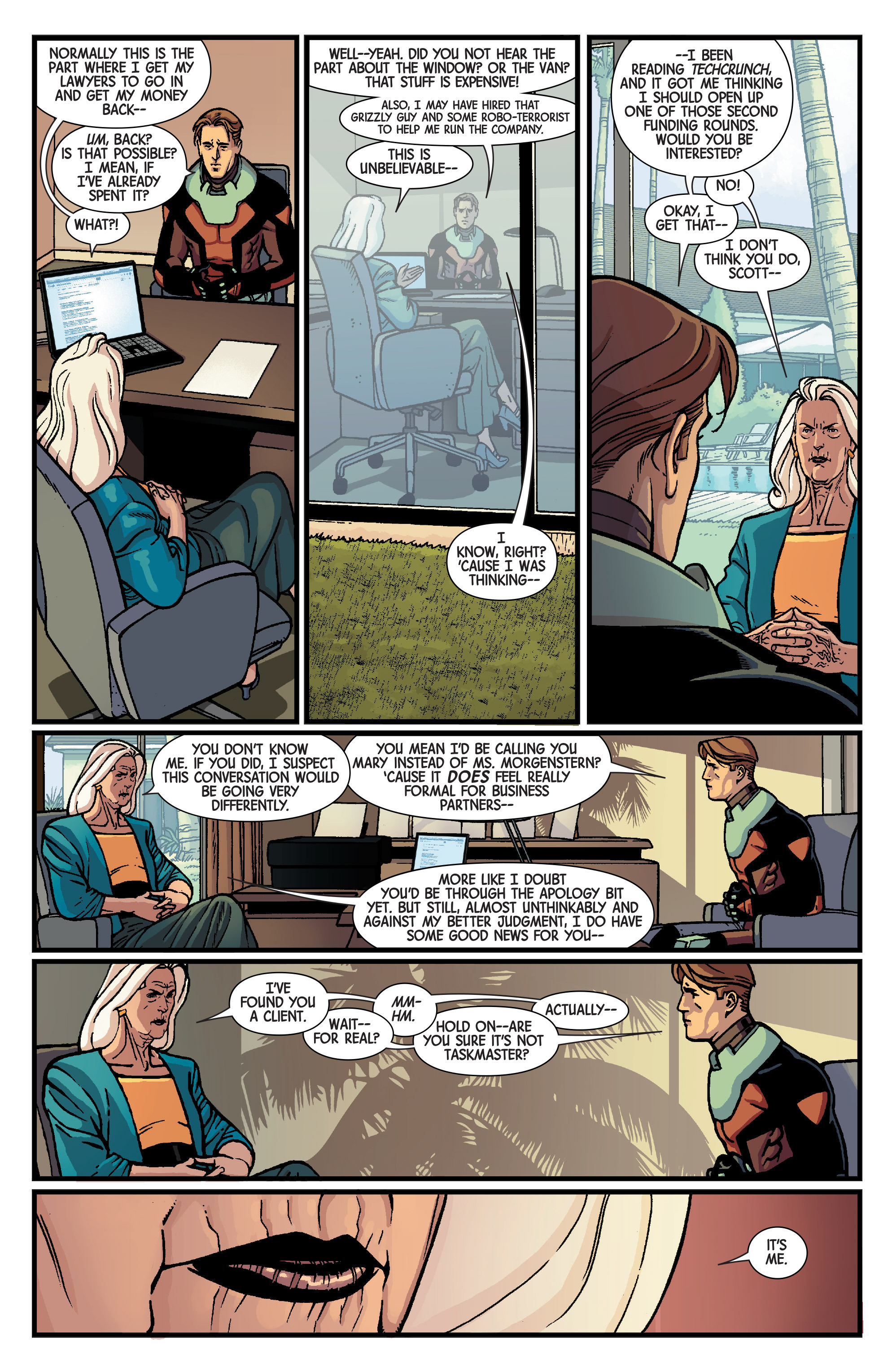 Read online Ant-Man: Last Days comic -  Issue #Ant-Man: Last Days Full - 8