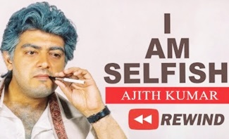 I am selfish – Ajith political speech