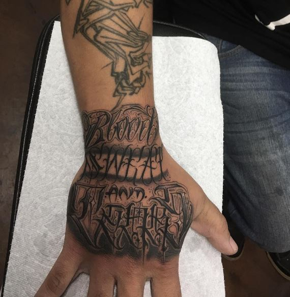 Tattoo Designs Simple On Hand For Girl: 50+ Best Hand Tattoos For Men (2019) Cool & Simple