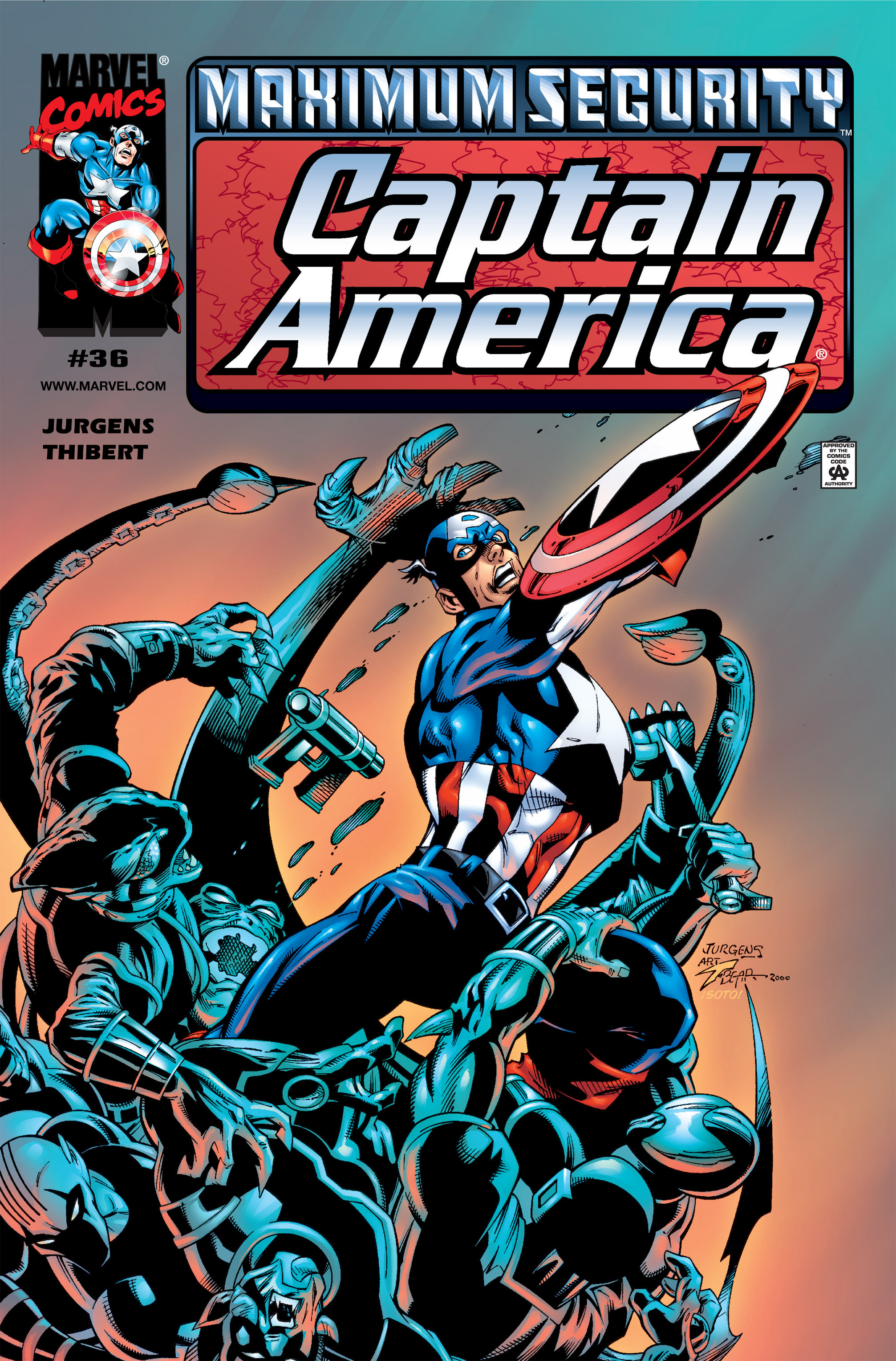 Captain America (1998) Issue #36 #43 - English 1