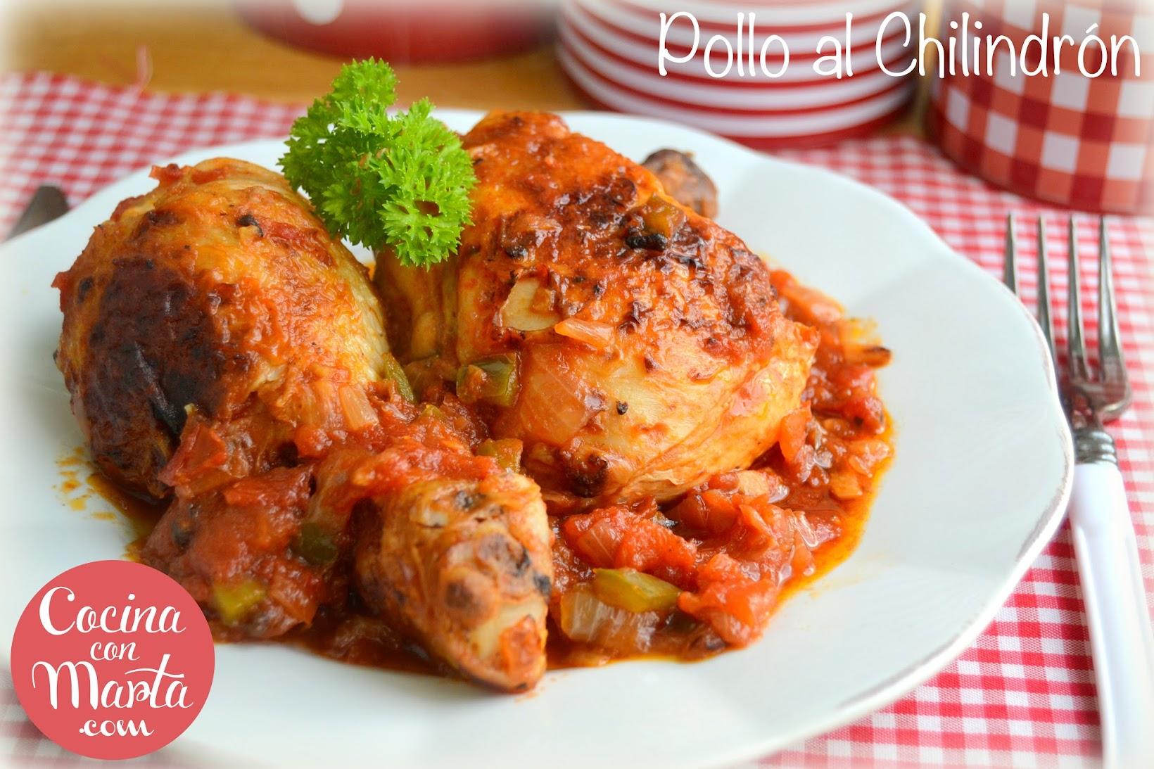 Receta pollo al chilindrón, pollo, fácil, rápido, sana, con verduras, Cocina con Marta, Olla GM, comprar