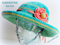 how to crochet, sun hats, crochet patterns, brimmed hats, beach hats,