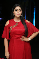 Poorna in Maroon Dress at Rakshasi movie Press meet Cute Pics ~  Exclusive 131.JPG