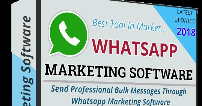 Get Whatsapp marketing Software @Best Price