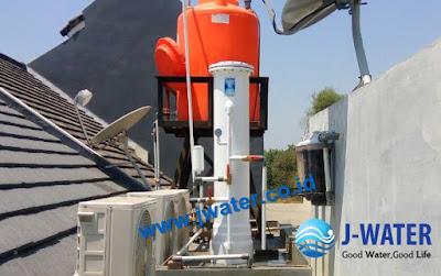 pemasangan filter air sumur bor sebelum toren