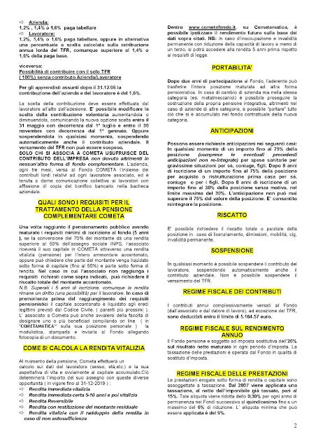 SCARICARE 730 FONDO COMETA