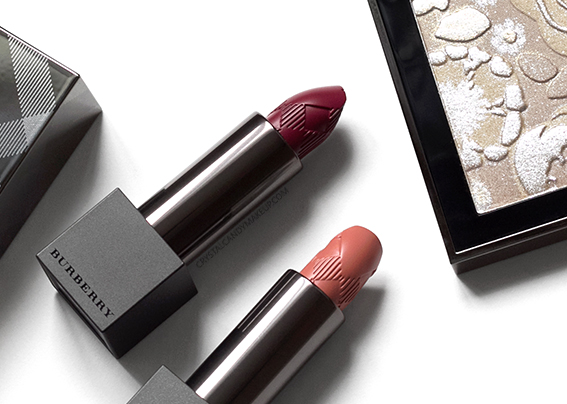 Burberry Runway Makeup Collection Fall 2016 Review Photos Swatches Lip Velvet 401 425