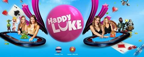 Giao diện nhà cái HappyLuke
