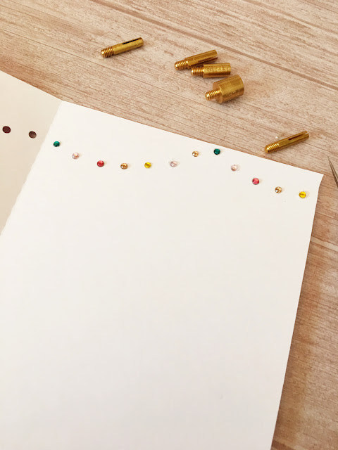 how to put rhinestones on paper, ribbon, wood and fabric