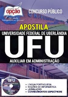 Apostila UFU 2017 Auxiliar em Administração