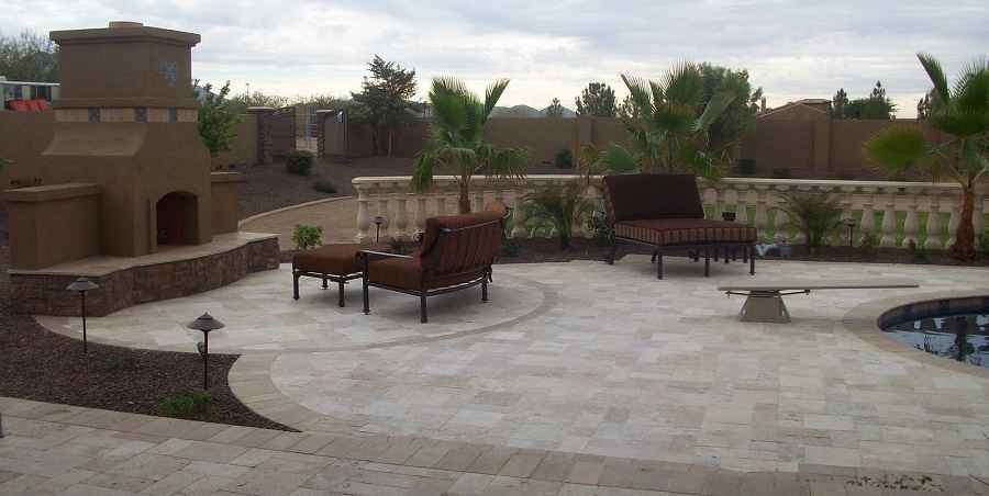 Arizona backyard landscaping ideas on a budget modern for Backyard design ideas arizona