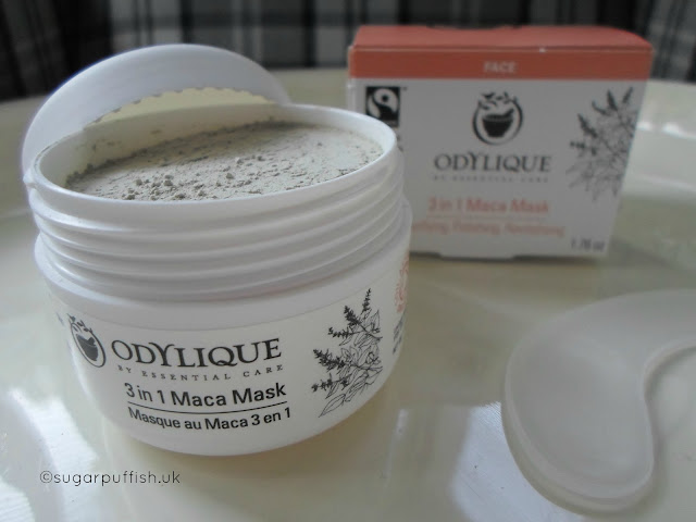 Review Odylique 3 In 1 Maca Mask