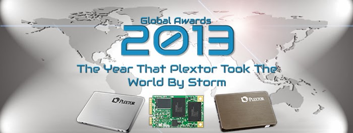 Plextor 2013 Global Awards