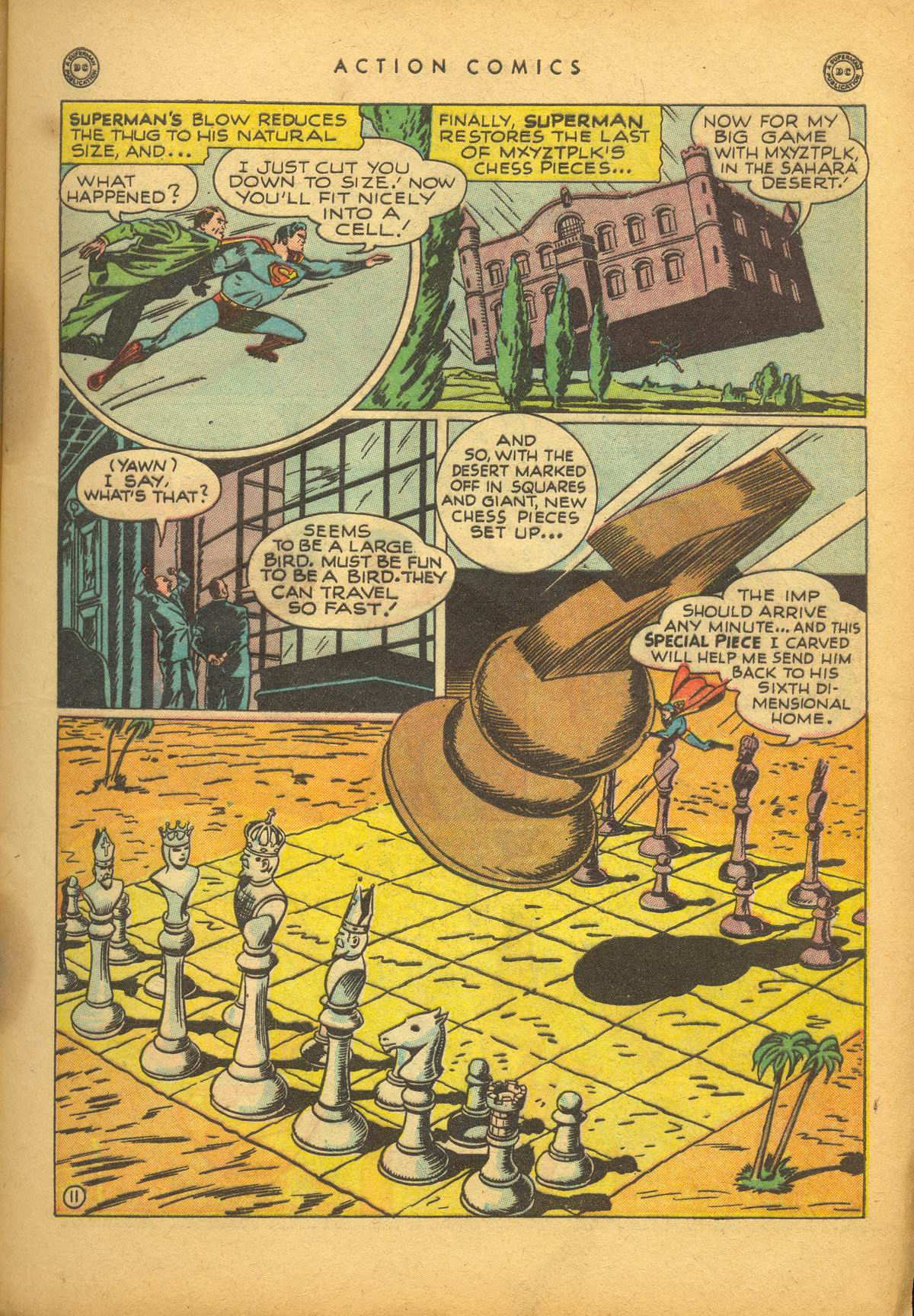Read online Action Comics (1938) comic -  Issue #112 - 13