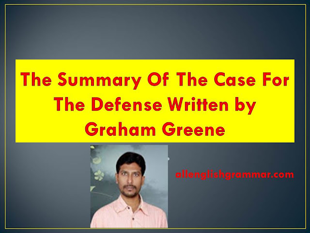 The-Short-Story-Of-The-Case-For-The-Defense-Written-by-Graham-Greene