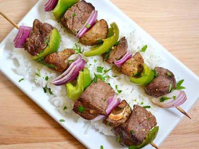 Thịt Bò nướng xiên