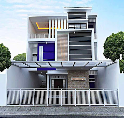 Desain rumah minimalis mewah dan keren