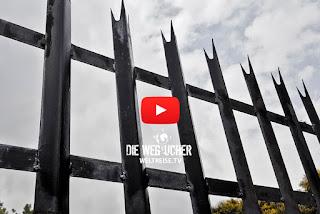 Hinter Gittern in Südafrika, Johannesburg, Weltreise, Arkadij und Katja aus Bremerhaven