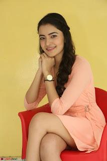 Rukshar Mir in a Peachy Deep Neck Short Dress 077.JPG