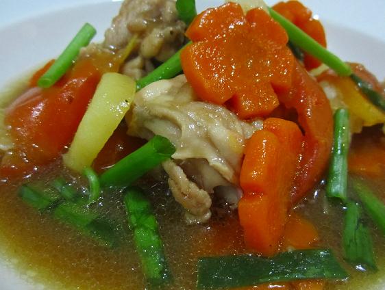 Resepi Ayam Masak Stew Yang Mudah