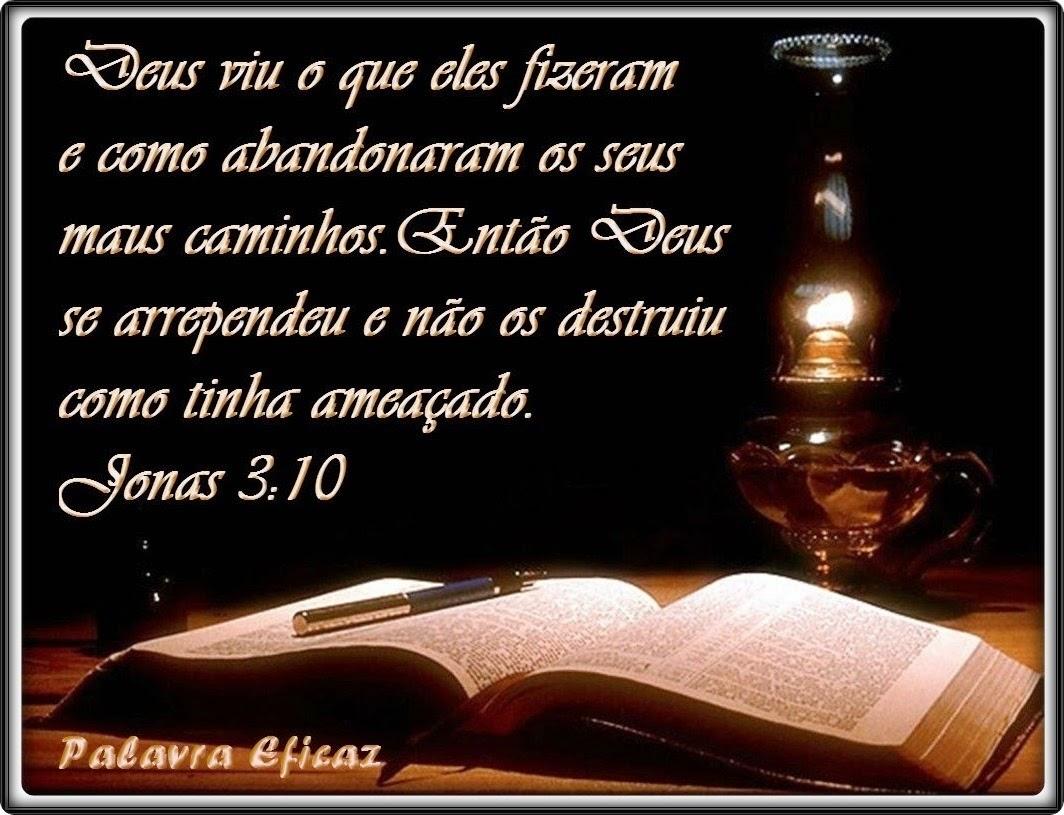 Persevere Em Oração Que Deus Irá Cumprir: Palavra E Ação : Lições De Vida-Jonas 3