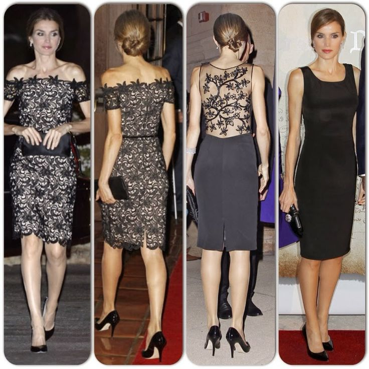 Princess Letizia 's Felipe Varela spain's international day dresses