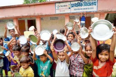 गणेश्वर के तीन स्कूलों में बच्चों को नहीं दिया जा रहा पोषाहार