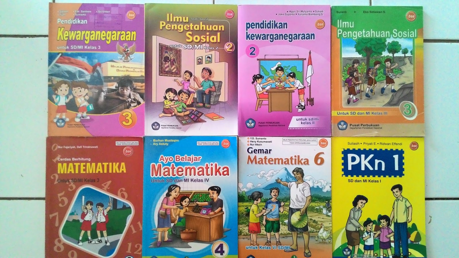 Kumpulan Buku Kurikulum 2006 Ktsp Untuk Sd Mi Lengkap