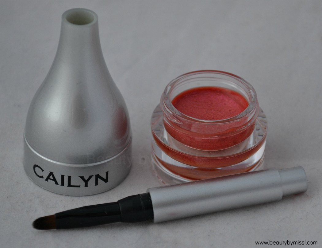 Cailyn Cosmetics Pearly Shimmer Balm in 04 Sugar Rose review & swatches