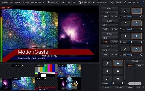 تحميل وشرح Motion Caster برنامج عمل بث مباشر للكمبيوتر