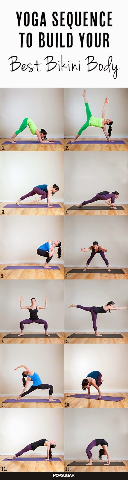 Source: www.PopSugar.com | Yoga Sequence to Build Your Best Bikini Body