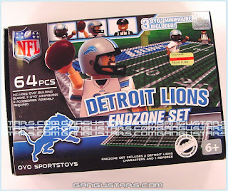 Detroit Lions Football 2015 Oyo Sports Toys NFL