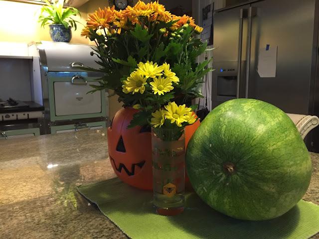 Halloween Fall Decor Tip Plastic Pumpkin