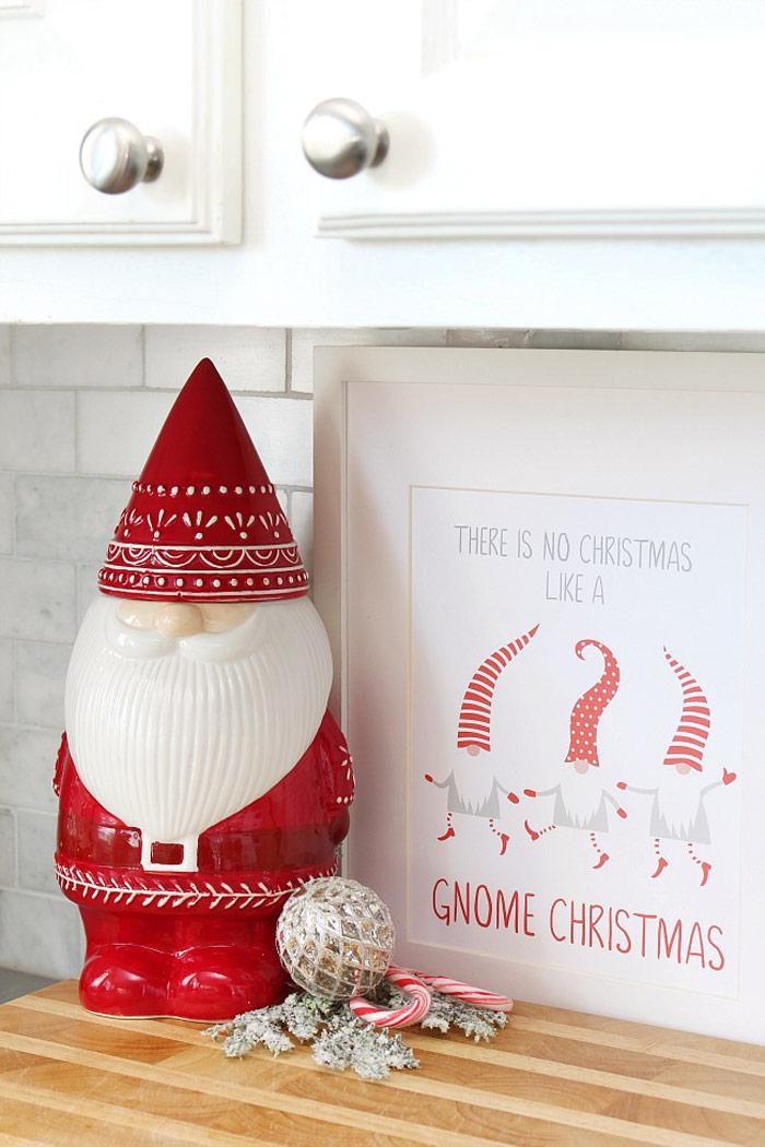 Christmas Gnome Printable