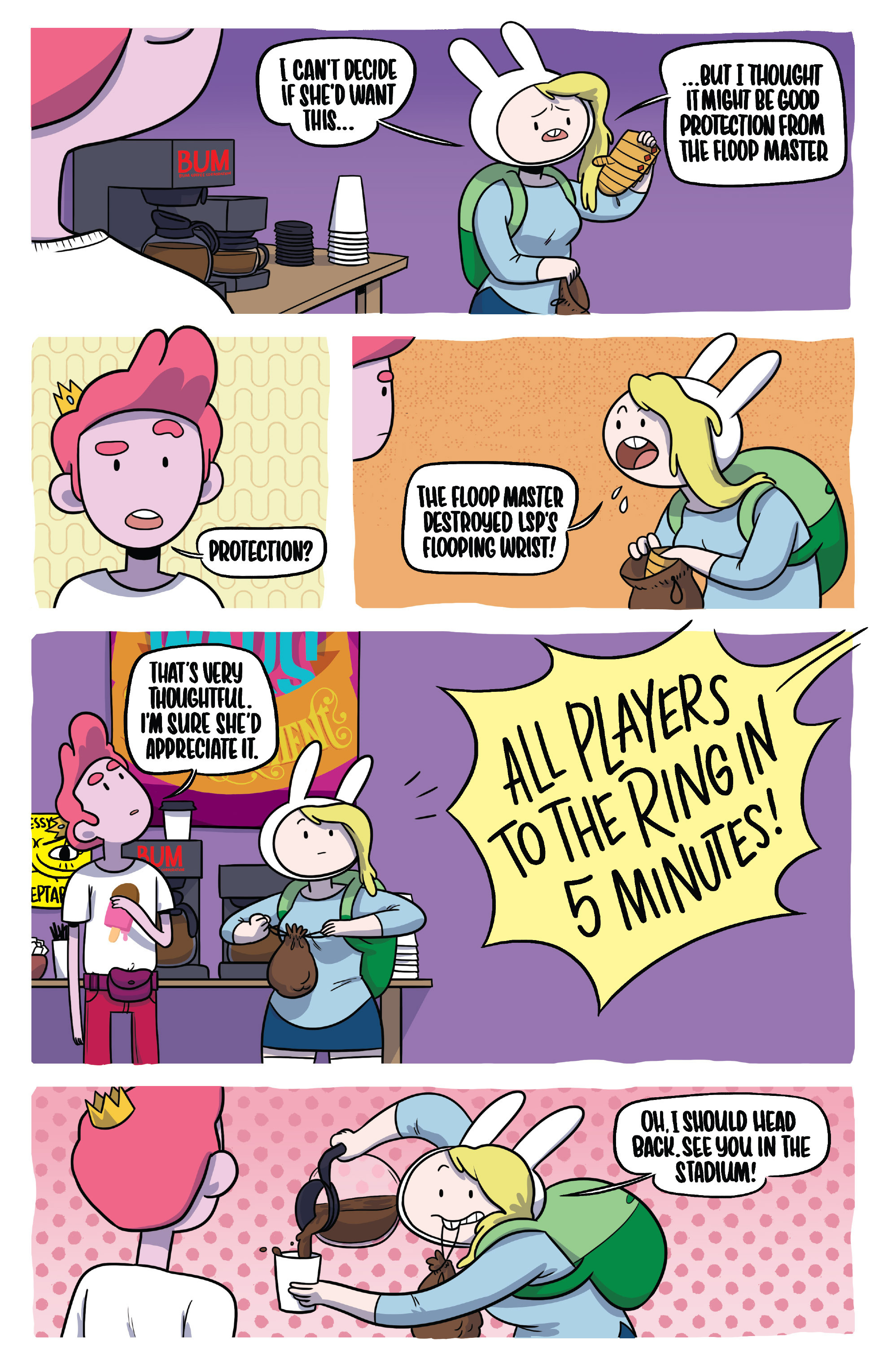 Read online Adventure Time Fionna and Cake Card Wars comic -  Issue #4 - 9