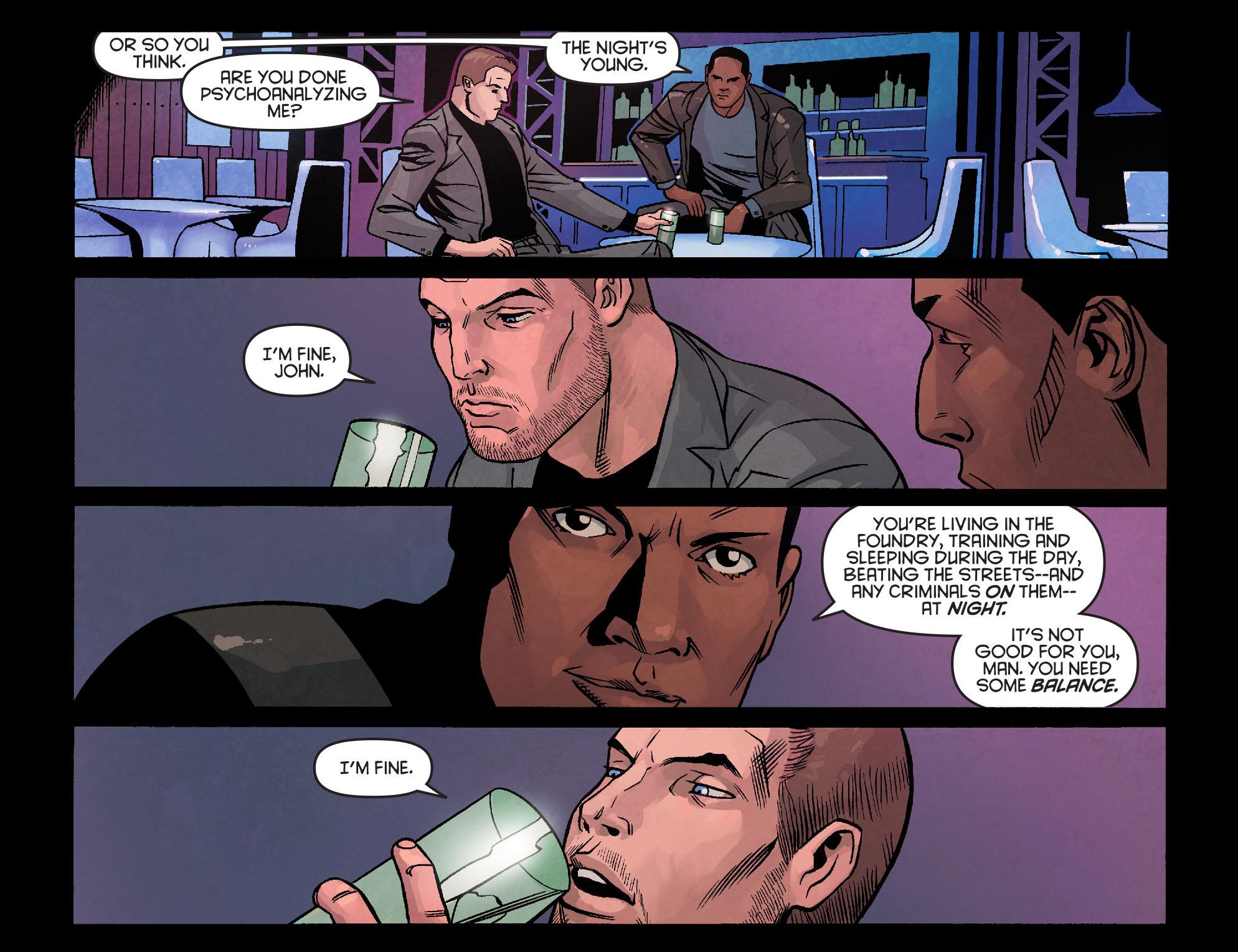 Read online Arrow: Season 2.5 [I] comic -  Issue #24 - 13