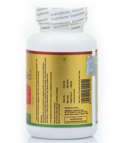 Zenith Nutrition Healthy HeartShield Capsules Details