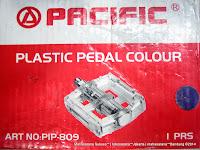 Pedal Pacific PIP-809 MTB Plastic Pedal Color