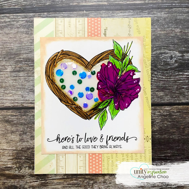 ScrappyScrappy: End of 2018 Big Bang with Unity Stamp #scrappyscrappy #unitystampco #card #cardmaking #stamp #stamping #quicktipvideo #youtube #tgracielliedesigns #nuvocrystalglaze #nuvoglitterdrop #unitystampsequins