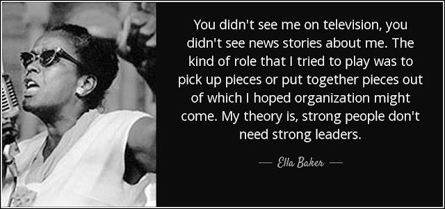 Quotations/Quotes by Ella Baker - Ella Baker Quotes