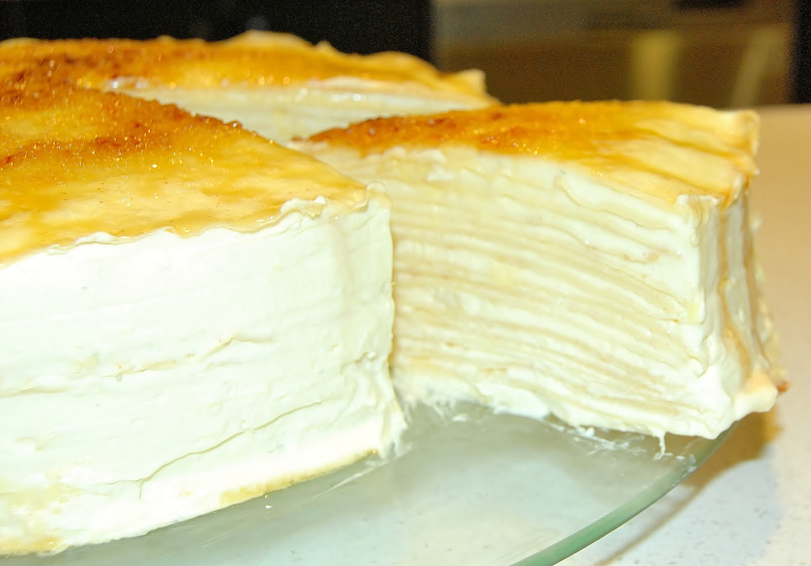 Layered Crepe Cake Recipes: Durian Mille Crepe