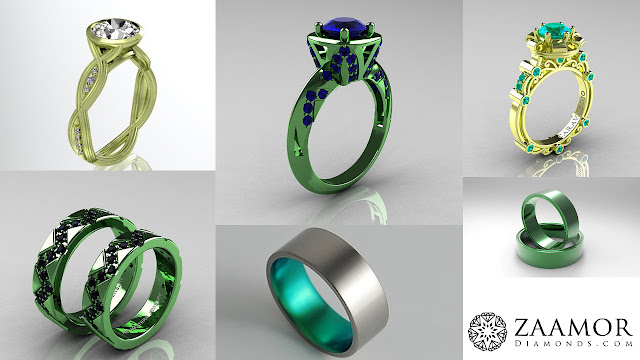 Green Gold Jewellery