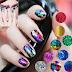 Galaxy Style Nail Art