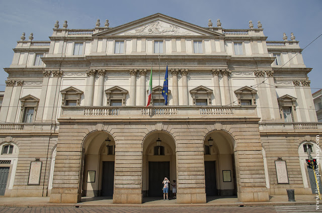 Treatro de la Scala Milán viaje Italia