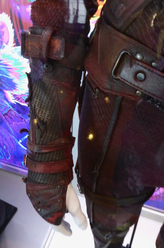 Guardians of the Galaxy 2 Nebula costume detail