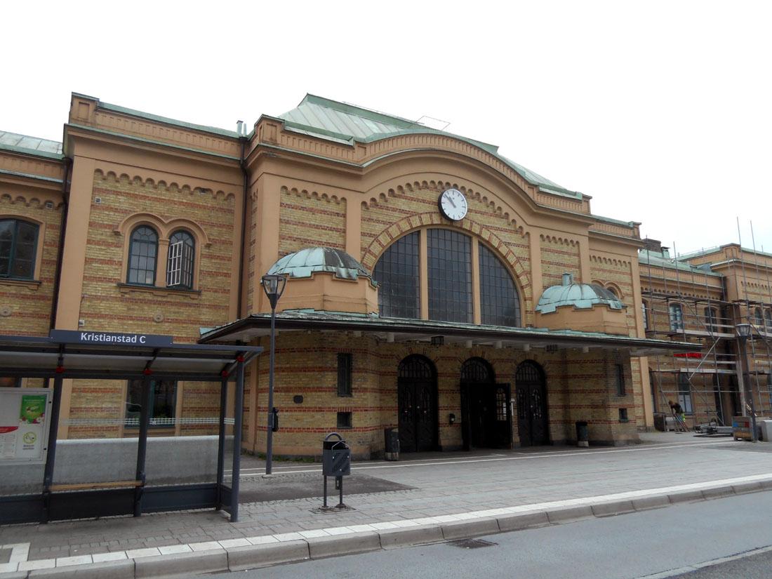 Stazione dei treni di Kristianstad
